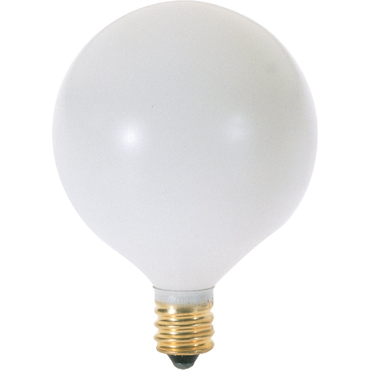 60W WHT 2-1/16GLOBE BULB - 44723 60GC/W by G E Lighting