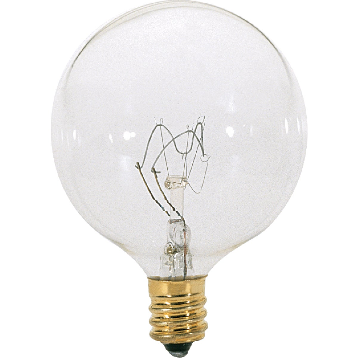 60W CLR 2-1/16GLOBE BULB - 23091 by G E Lighting