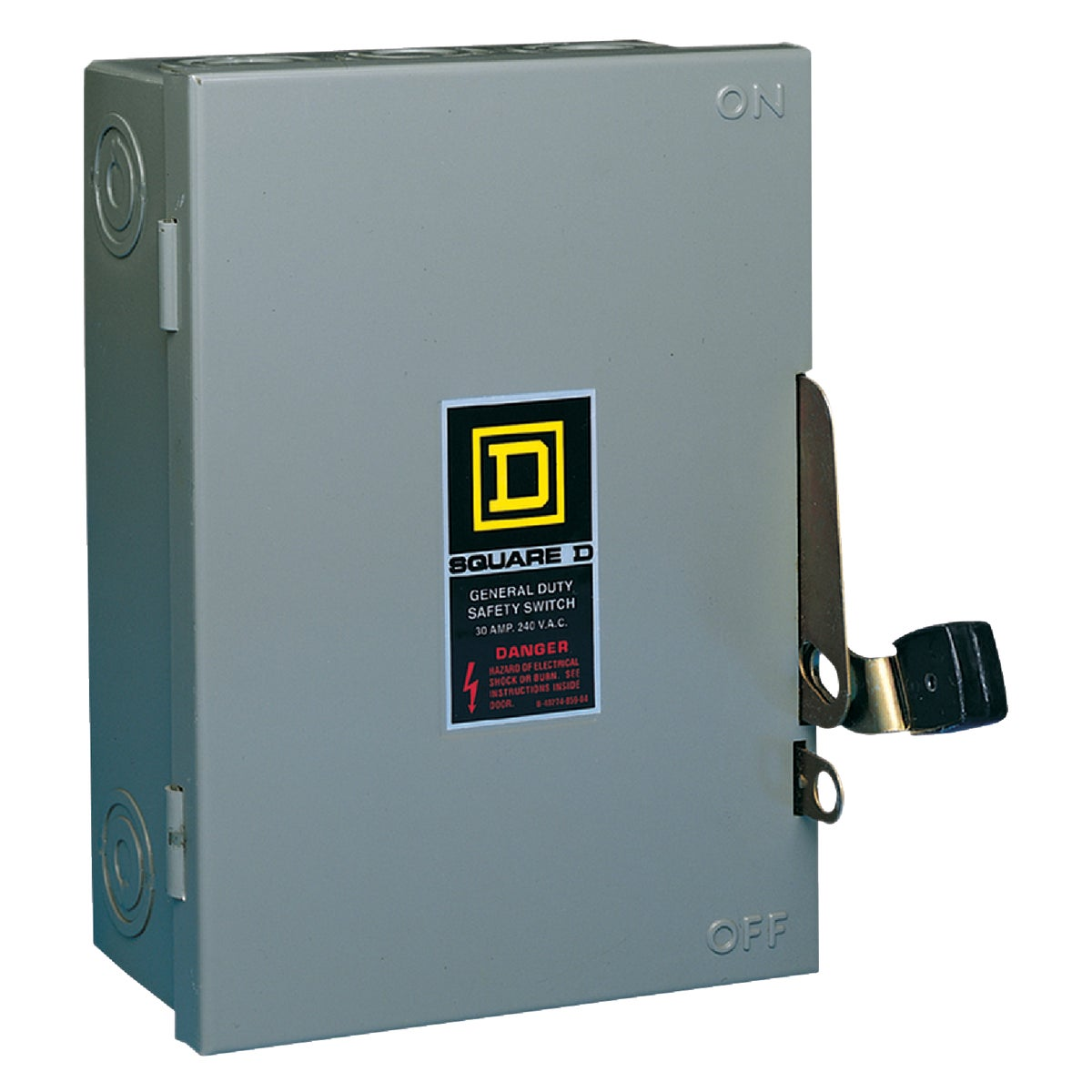 30A SAFETY SWITCH - D211NCP by Square D Co