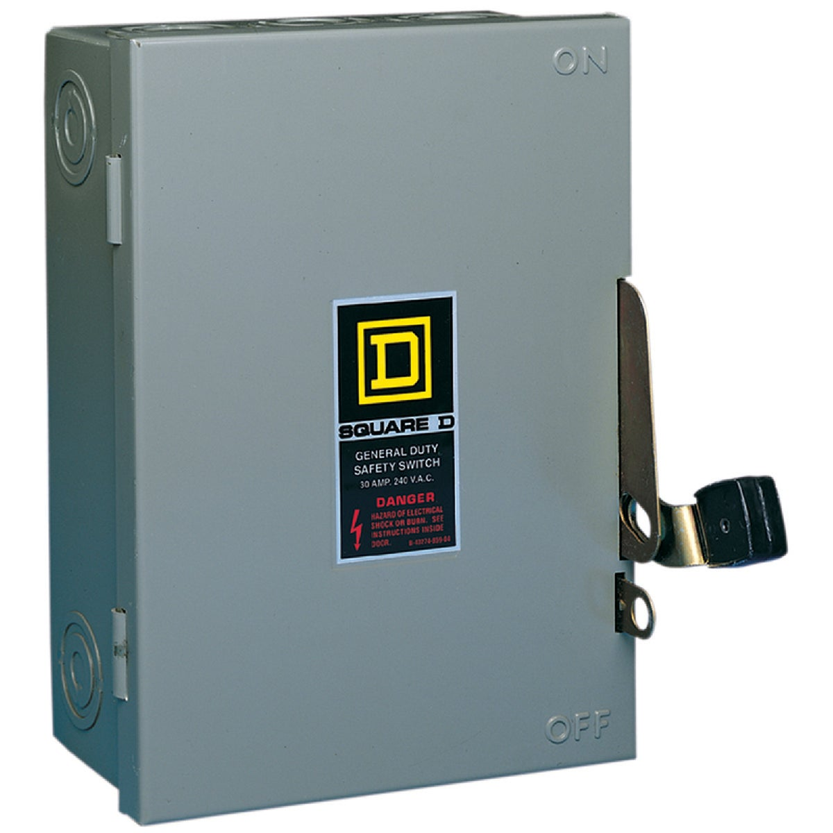 30A SAFETY SWITCH - D221NCP by Square D Co
