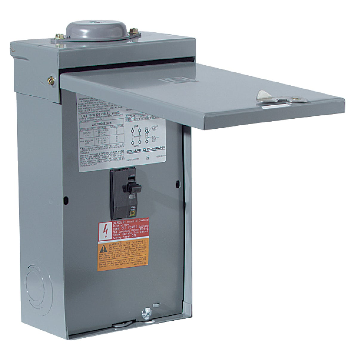 100A ENCLOSED BREAKER - QO2100NRBCP by Square D Co