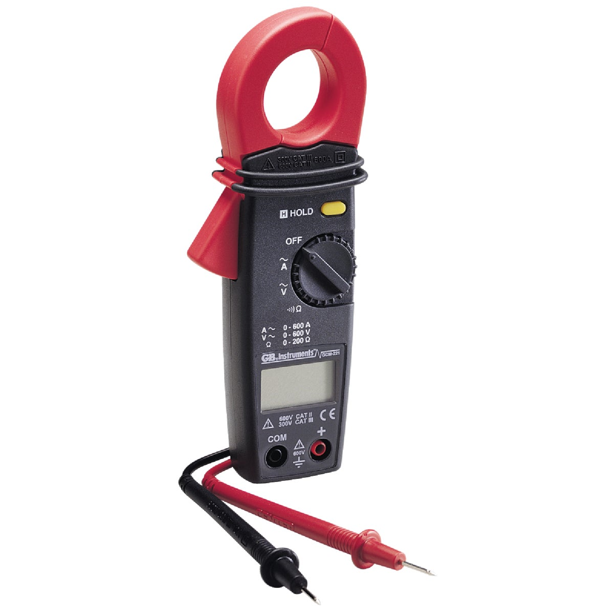 CLAMP-ON TESTER - GCM-221 by G B Electrical Inc
