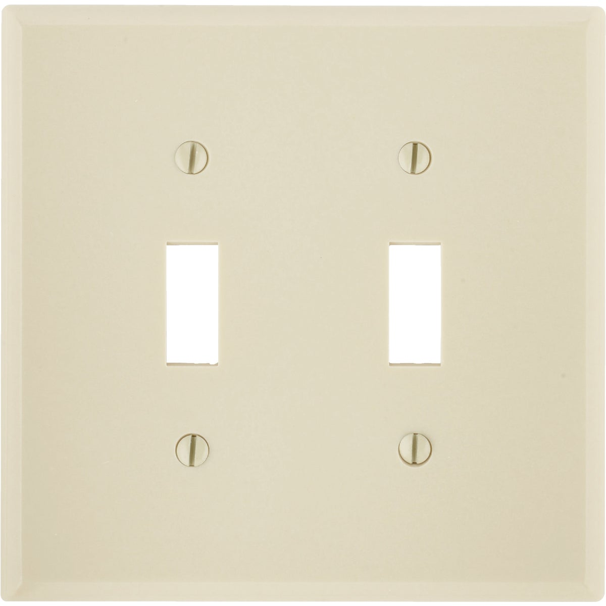 IV 2-TOGGLE WALL PLATE
