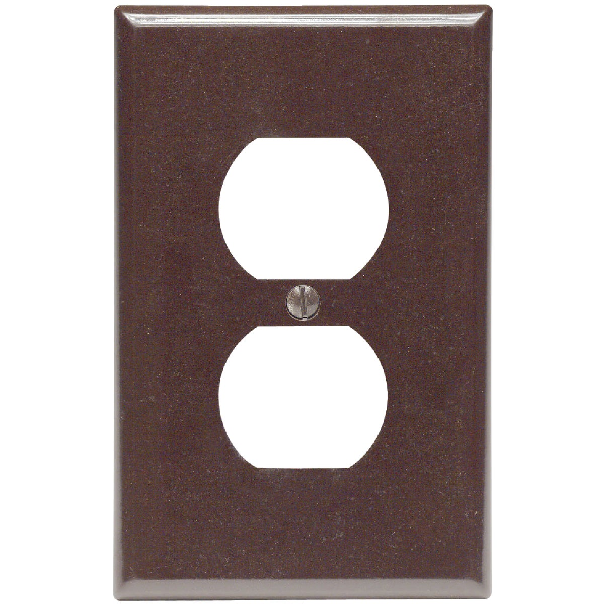 BRN OUTLET WALL PLATE - 80503 by Leviton Mfg Co