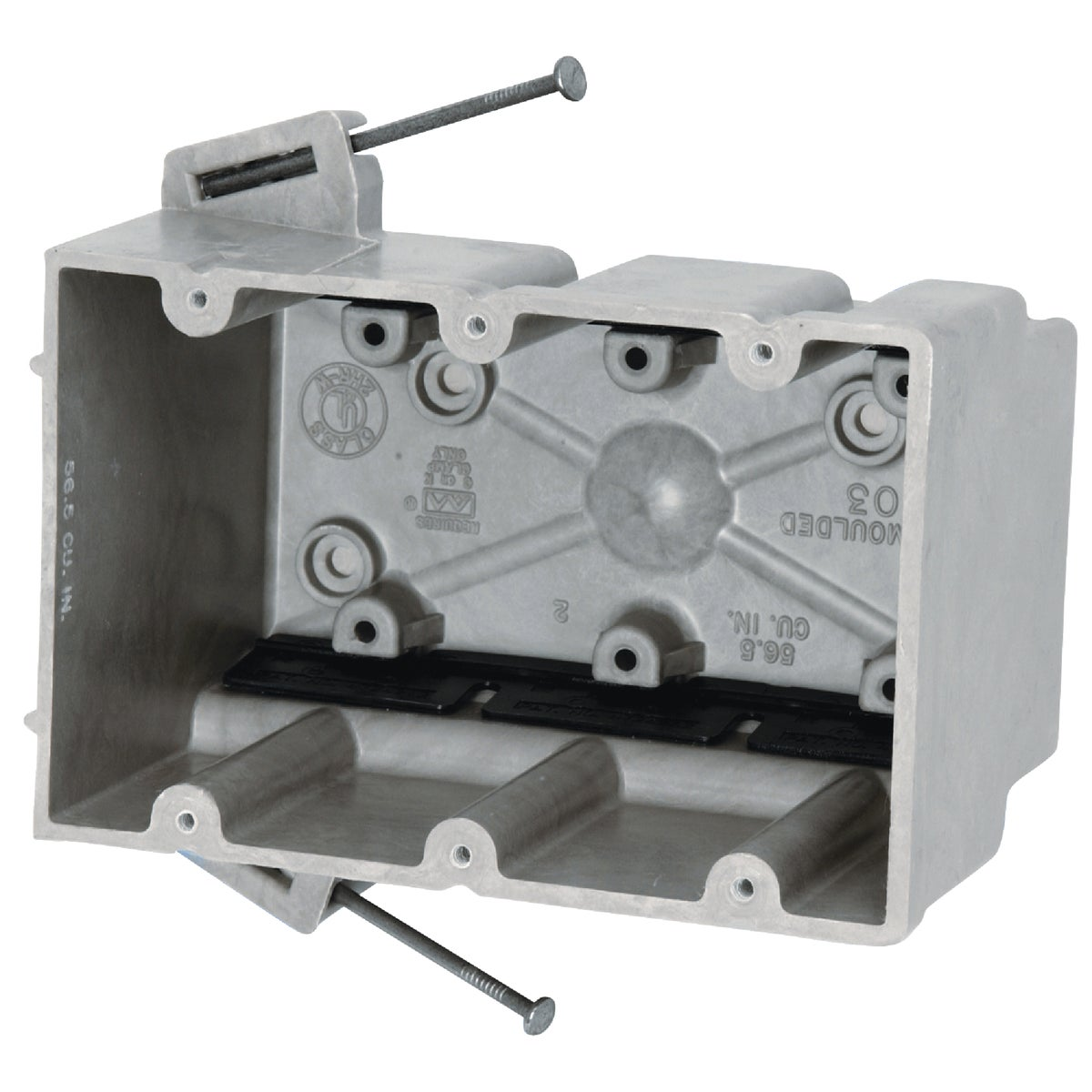 3 GANG SWITCH BOX - 3300=NK by Allied Moulded