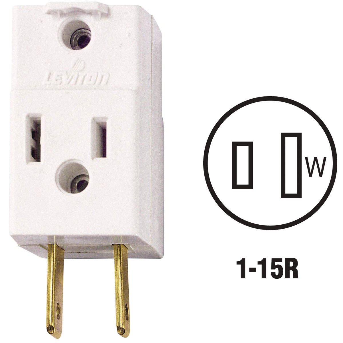 POLARIZED CUBE TAP - 531W by Leviton Mfg Co