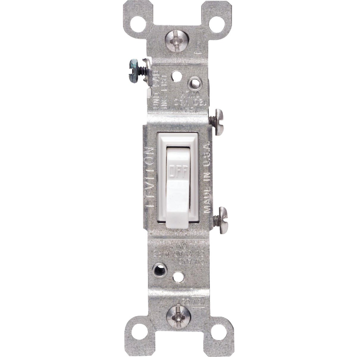 WHT GRND SWITCH - 8781451-2W by Leviton Mfg Co