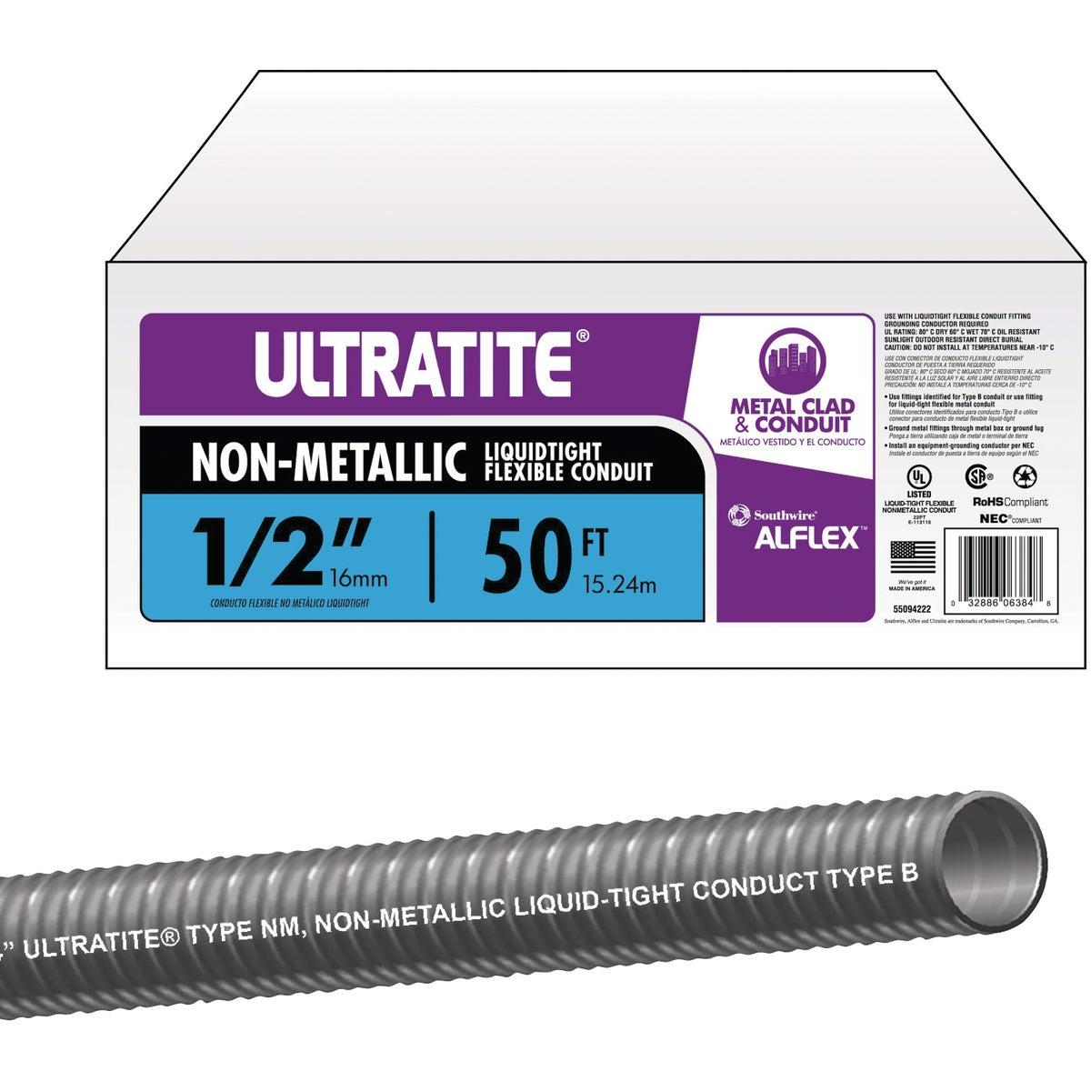 """50' 1/2"""" LIQTITE CONDUIT - 55094222 by Southwire Company"""