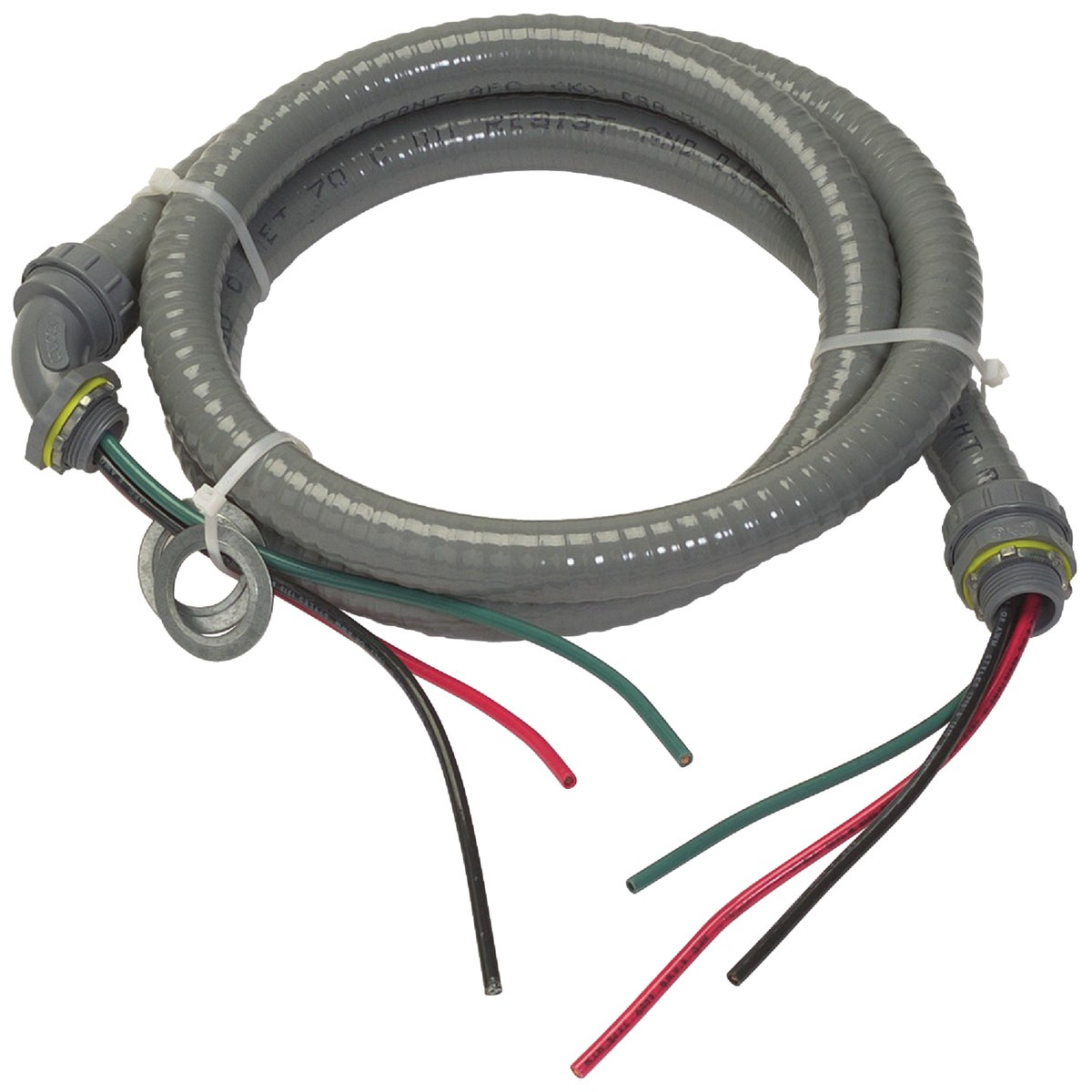 """6' 1/2"""" NONMETALLIC WHIP - 55189407 by Southwire Company"""