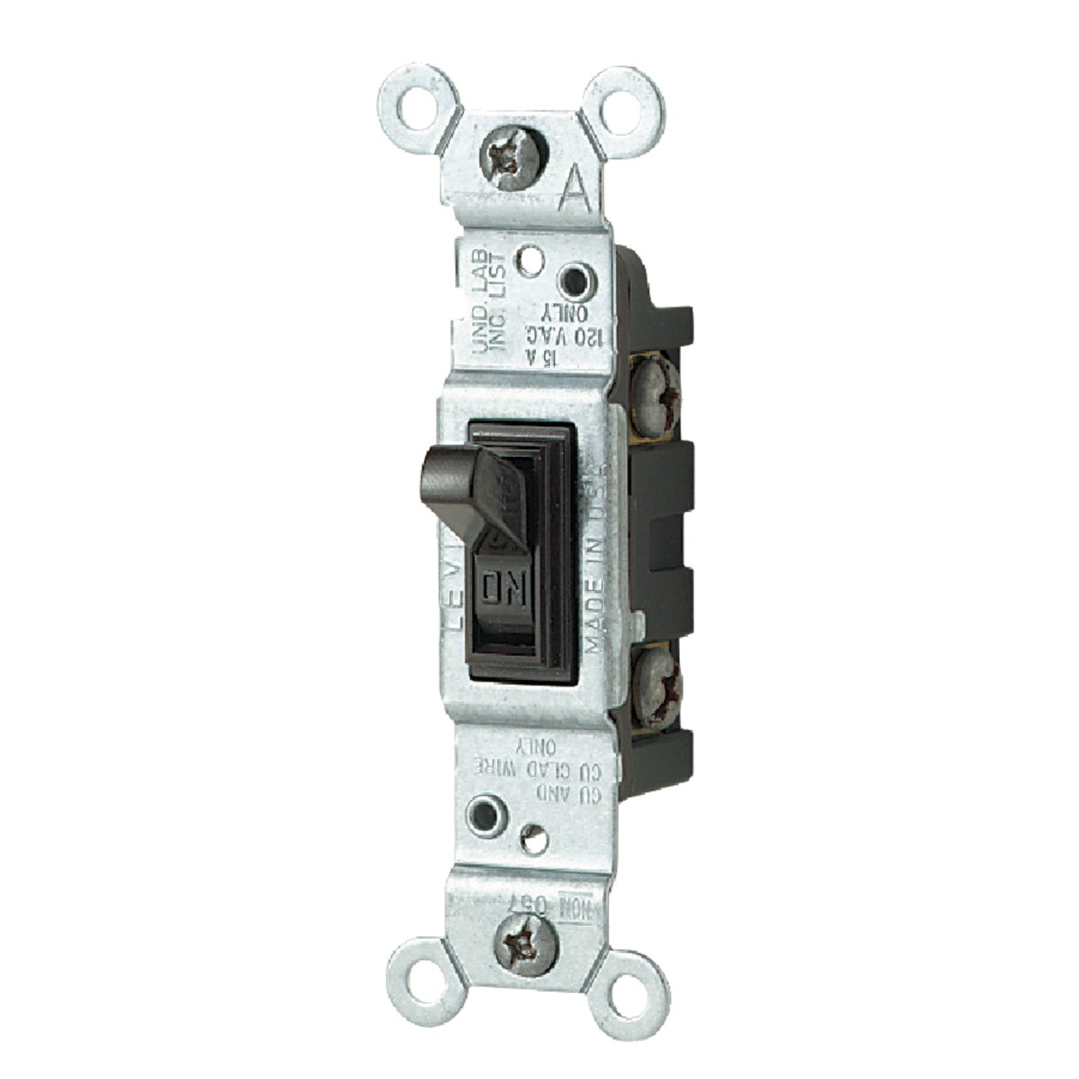 BRN 1POLE SWITCH - 1451CP by Leviton Mfg Co