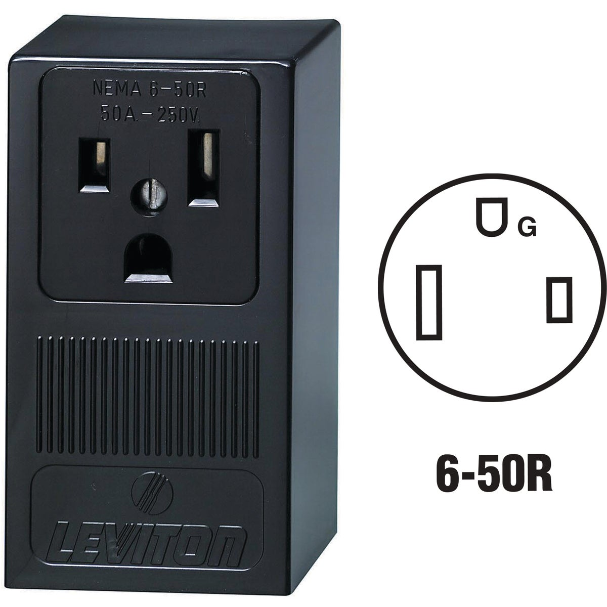 SURFACE WELDER OUTLET - 5378 by Leviton Mfg Co