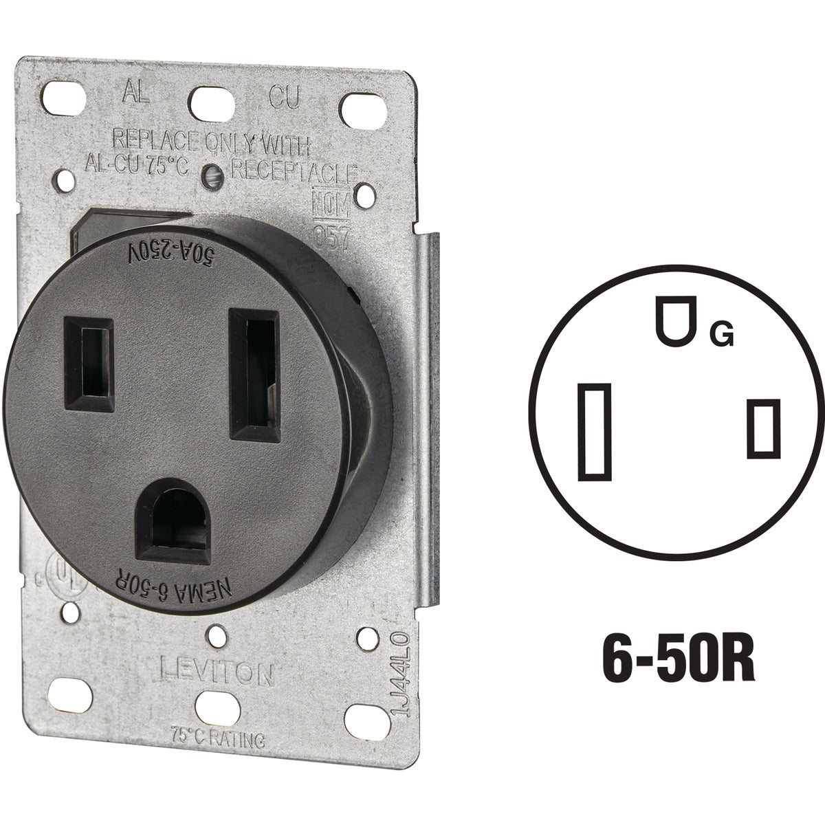 FLUSH WELDER OUTLET - R61-5374 by Leviton Mfg Co