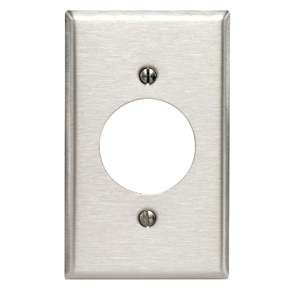 SS SINGLE WALL PLATE - 84020-040 by Leviton Mfg Co