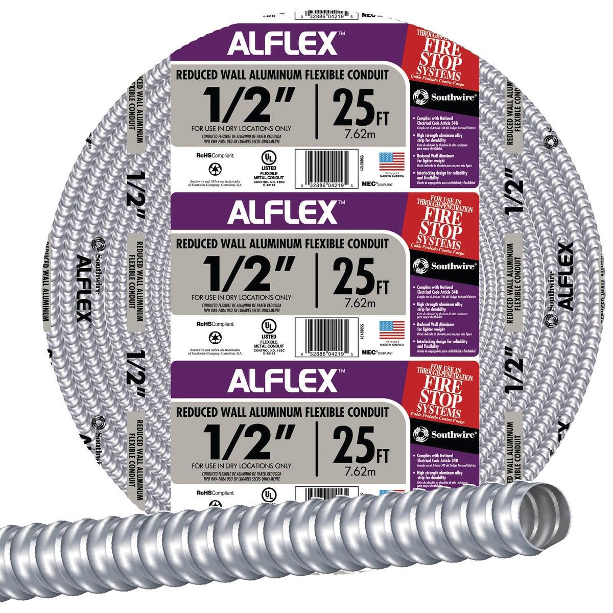 "25' 1/2"" FLEX CONDUIT"