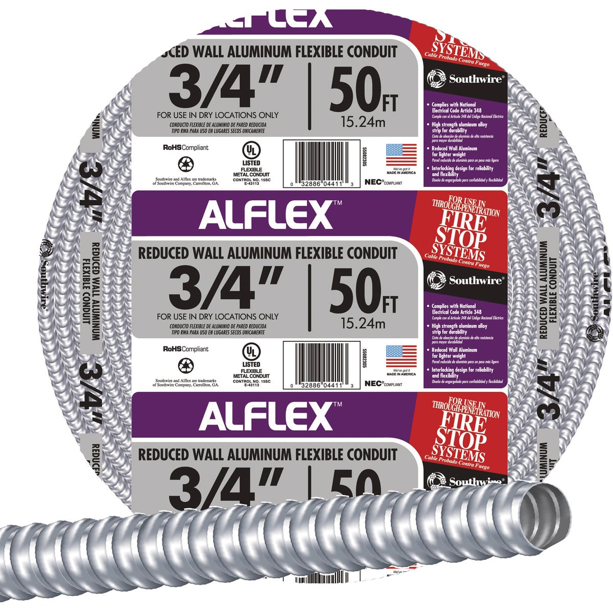 AFC Cable 50' 3/4