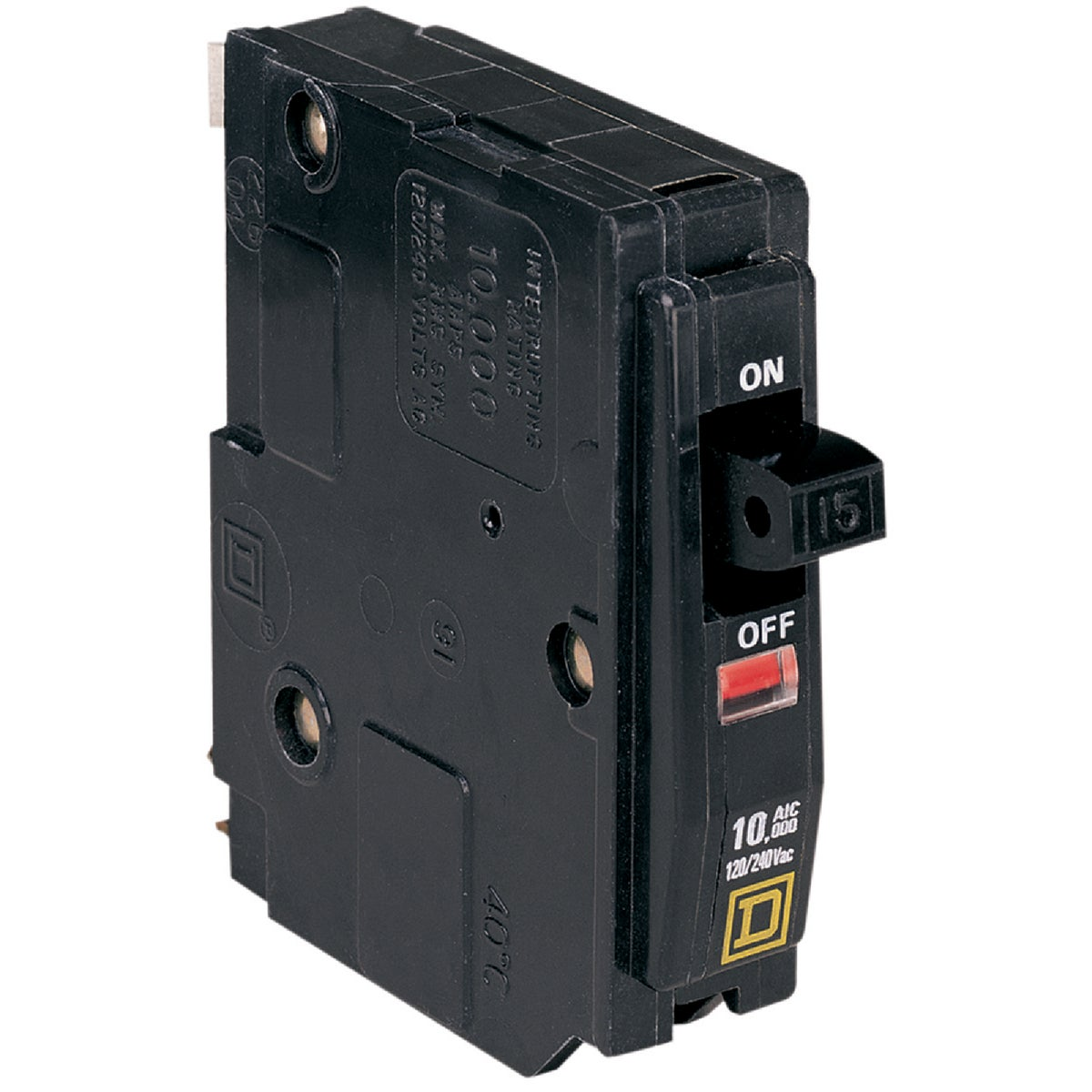 15A SP CIRCUIT BREAKER - QO115C by Square D Co
