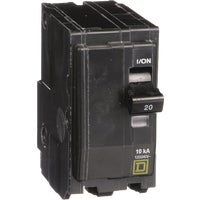 Square D Co. 20A 2P CIRCUIT BREAKER QO220C