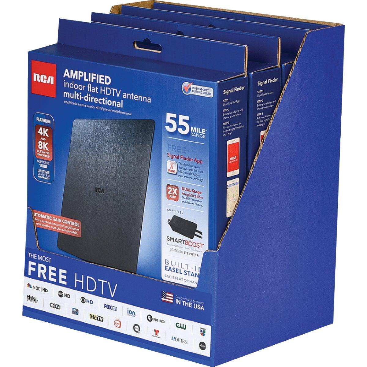 Audiovox Accessories FLAT AMP INDOOR ANTENNA ANT1450B