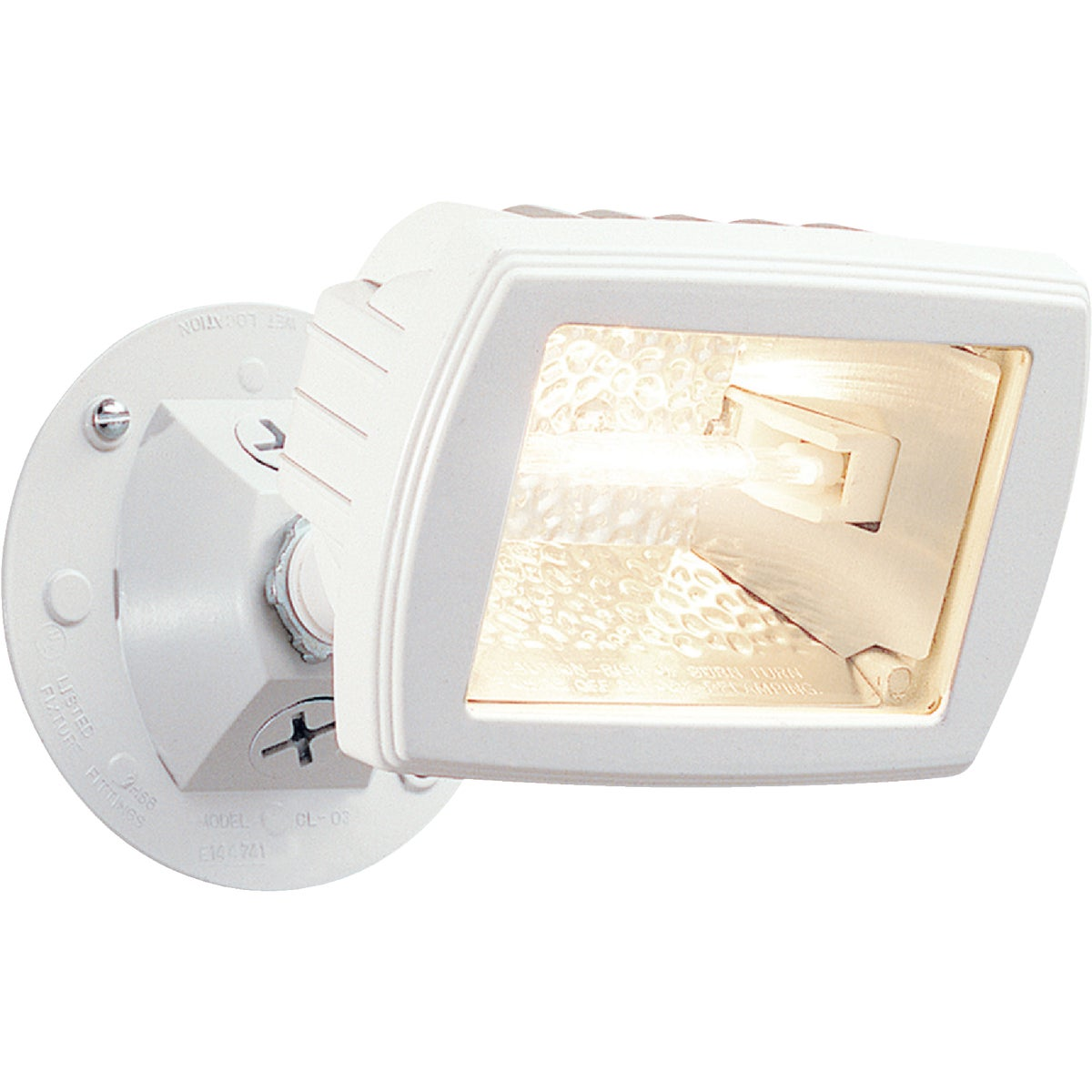 150W WHT QTZ FLOODLIGHT - MQF150W by Cooper Lighting