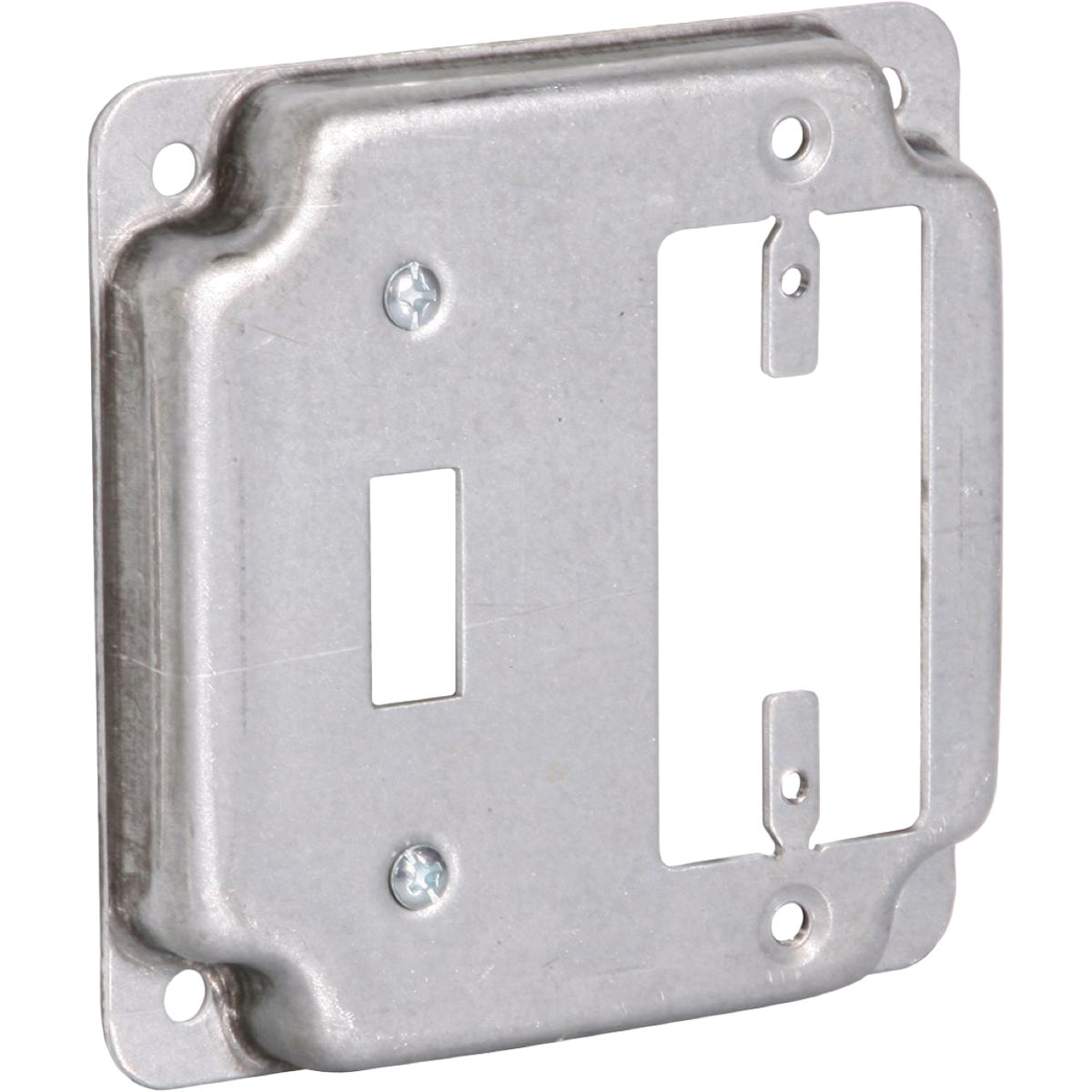 "4"" SQ GFI/SWITCH COVER - RS18CC by Thomas & Betts"