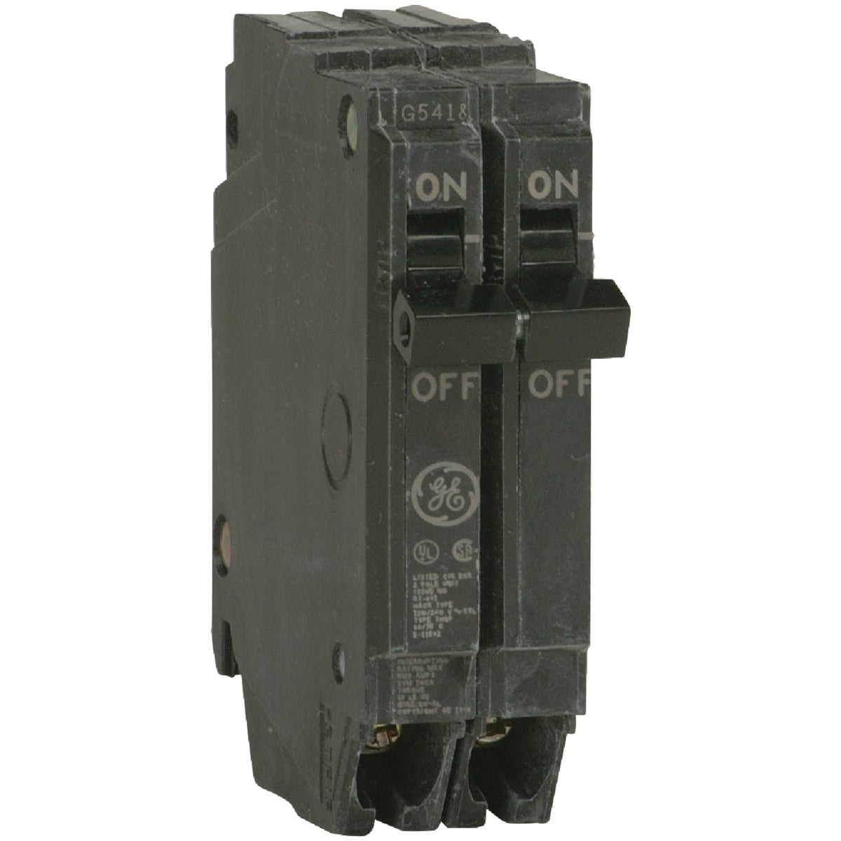 20A 2P CIRCUIT BREAKER - THQP220 by G E Industrial
