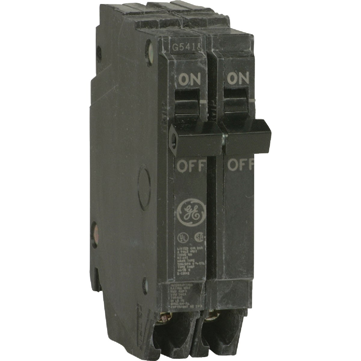 50A 2P CIRCUIT BREAKER - THQP250 by G E Industrial