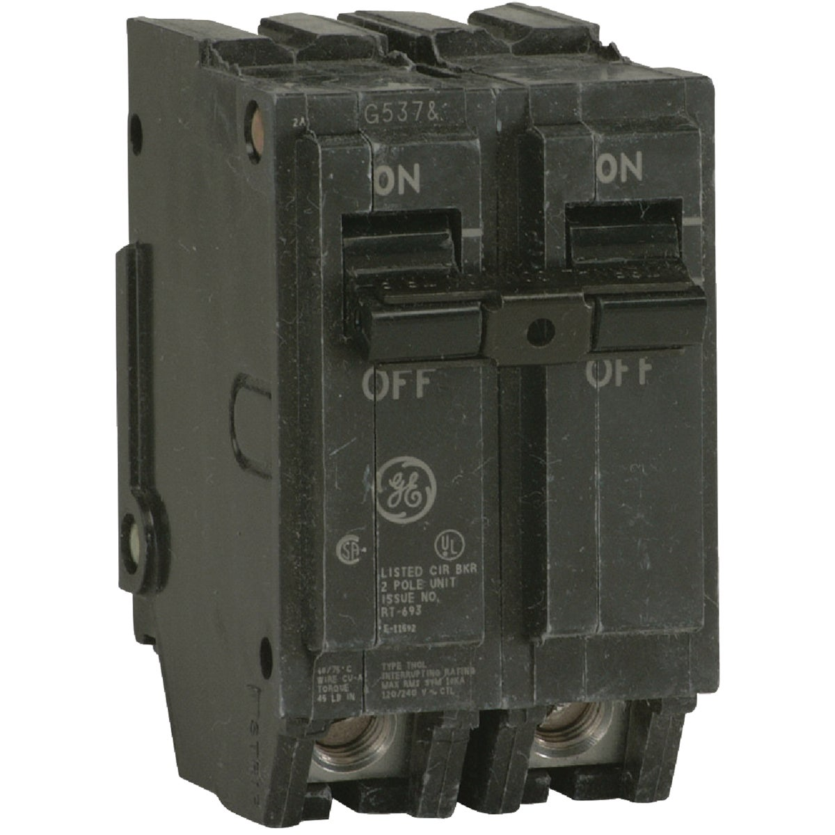 60A 2P CIRCUIT BREAKER - THQL2160 by G E Industrial