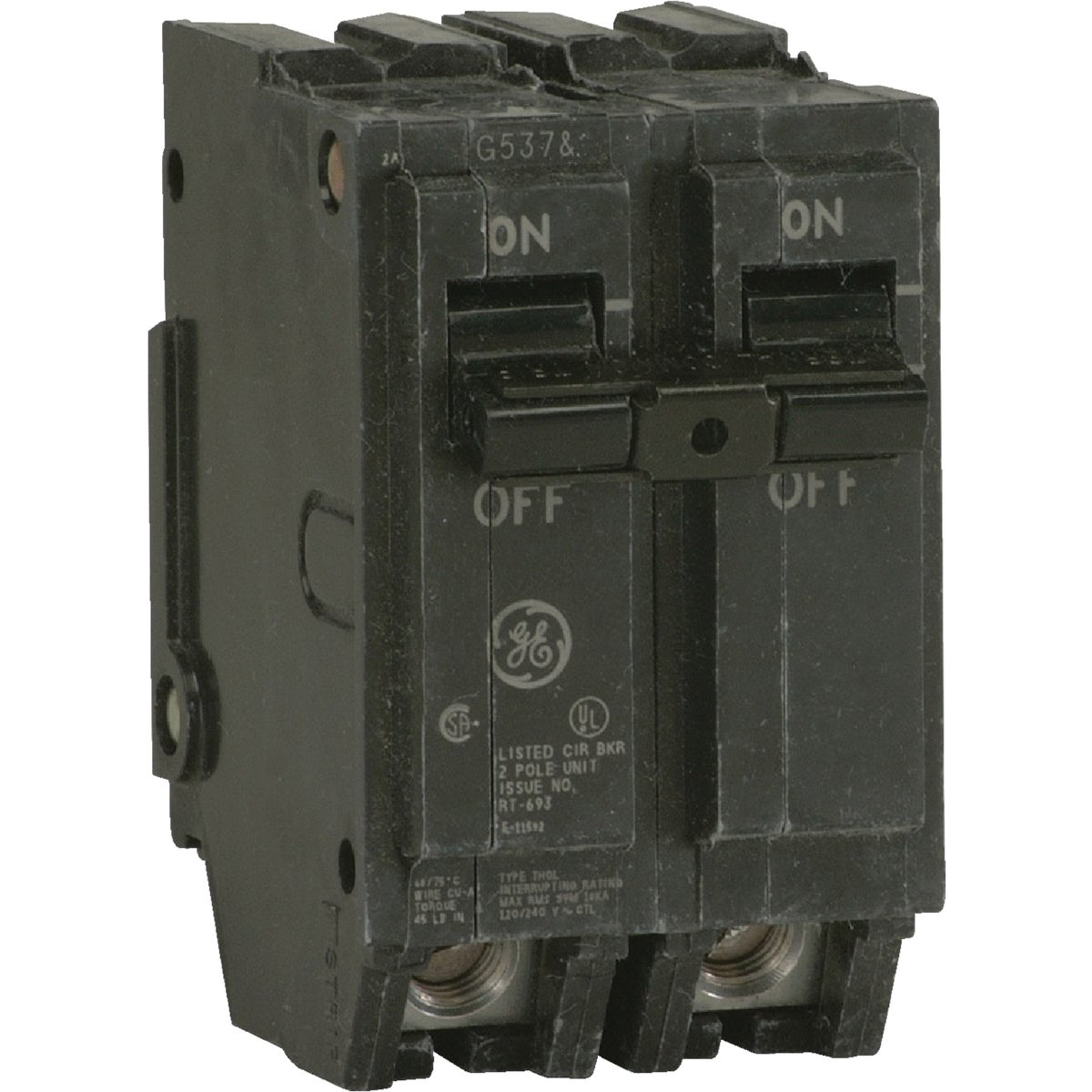 20A 2P CIRCUIT BREAKER - THQL2120 by G E Industrial