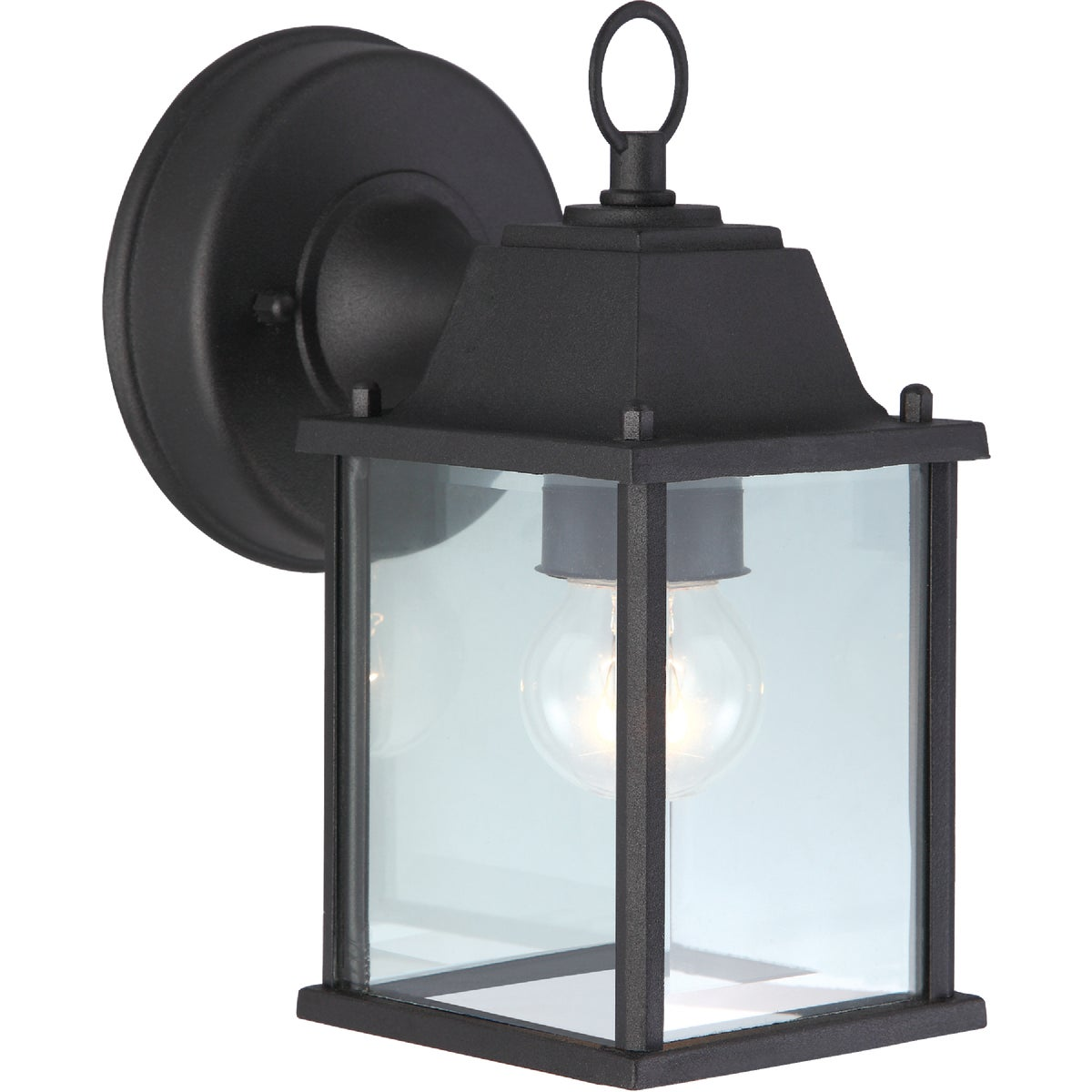 BLK OUTDOOR WALL FIXTURE