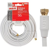 Audiovox Accessories 50' WHT COAX CABLE VHW112NV