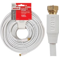 Audiovox Accessories 100' WHT COAX CABLE VHW111NV