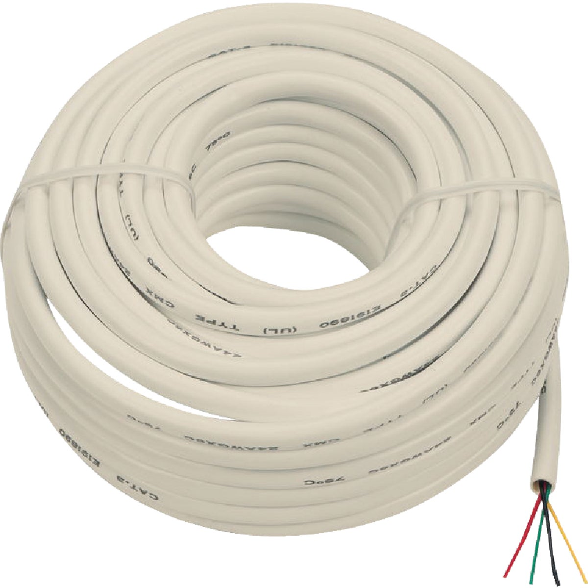 50' WHT PHONE WIRE - TP003RV by Audiovox Accessories