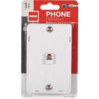Audiovox Accessories WHT WALL PHONE JACK TP251WHNV