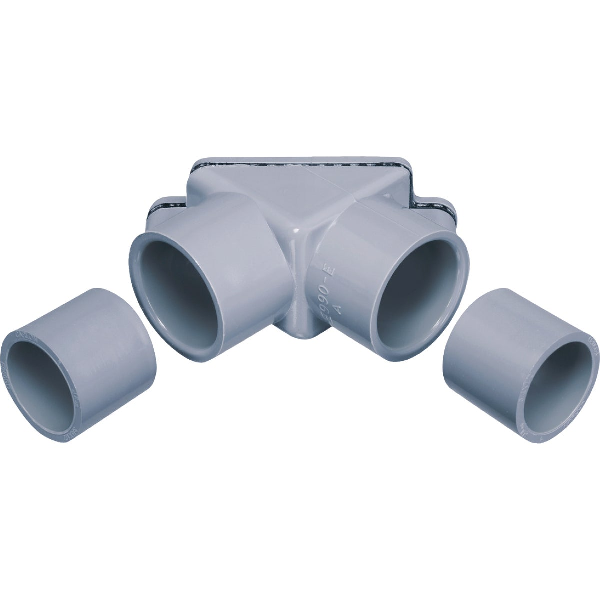 "1/2-3/4"" PVC PULL ELBOW"