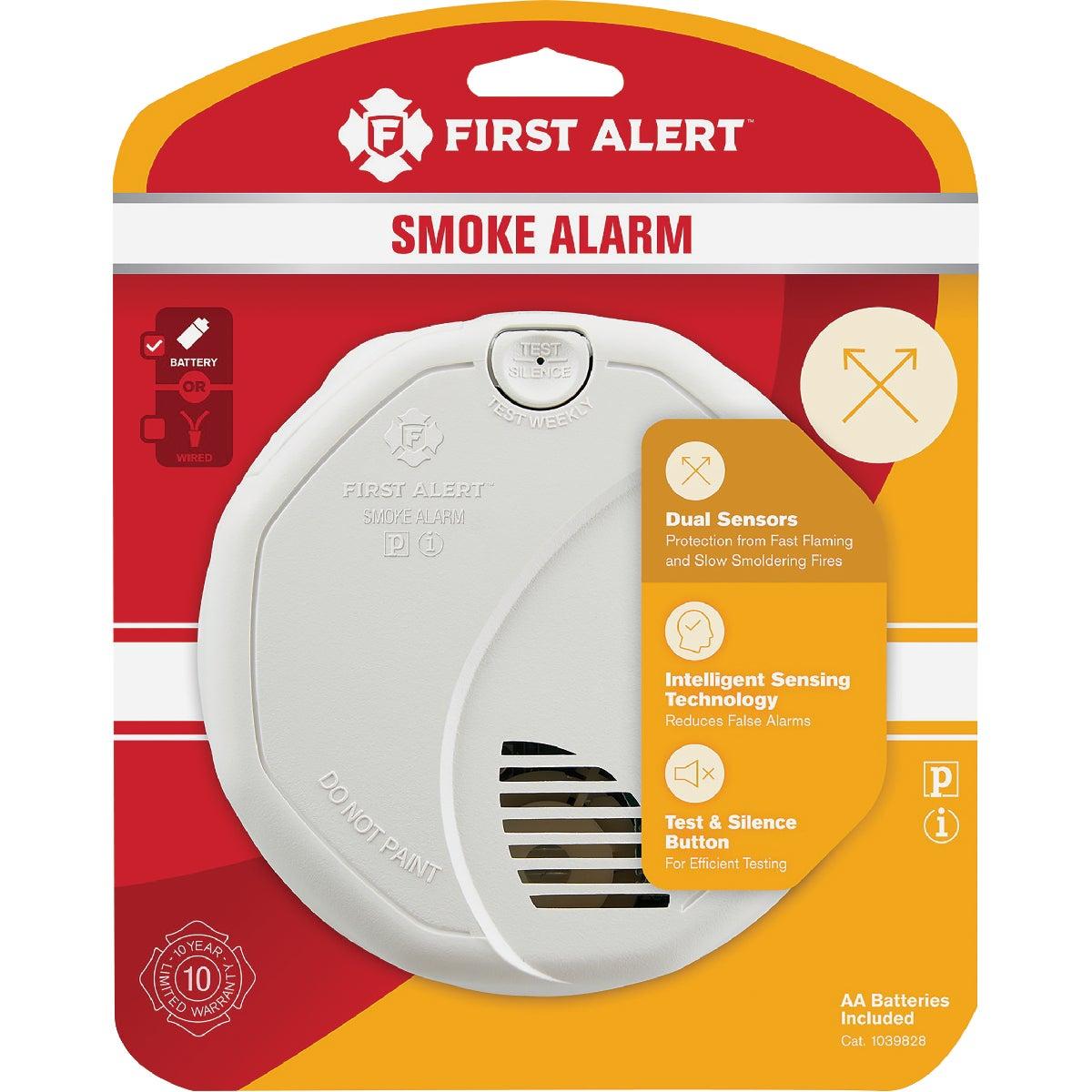 Smoke Alarm W/Batteries