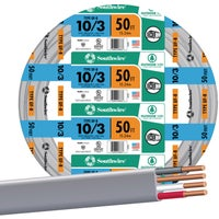 Southwire 50' 10-3 UFW/G WIRE 13059122