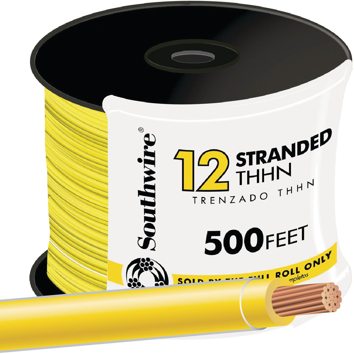 500' 12STR YEL THHN WIRE - 22969058 by Southwire Company