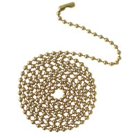 Westinghouse Lighting 3' PB BEADED PULL CHAIN 77050