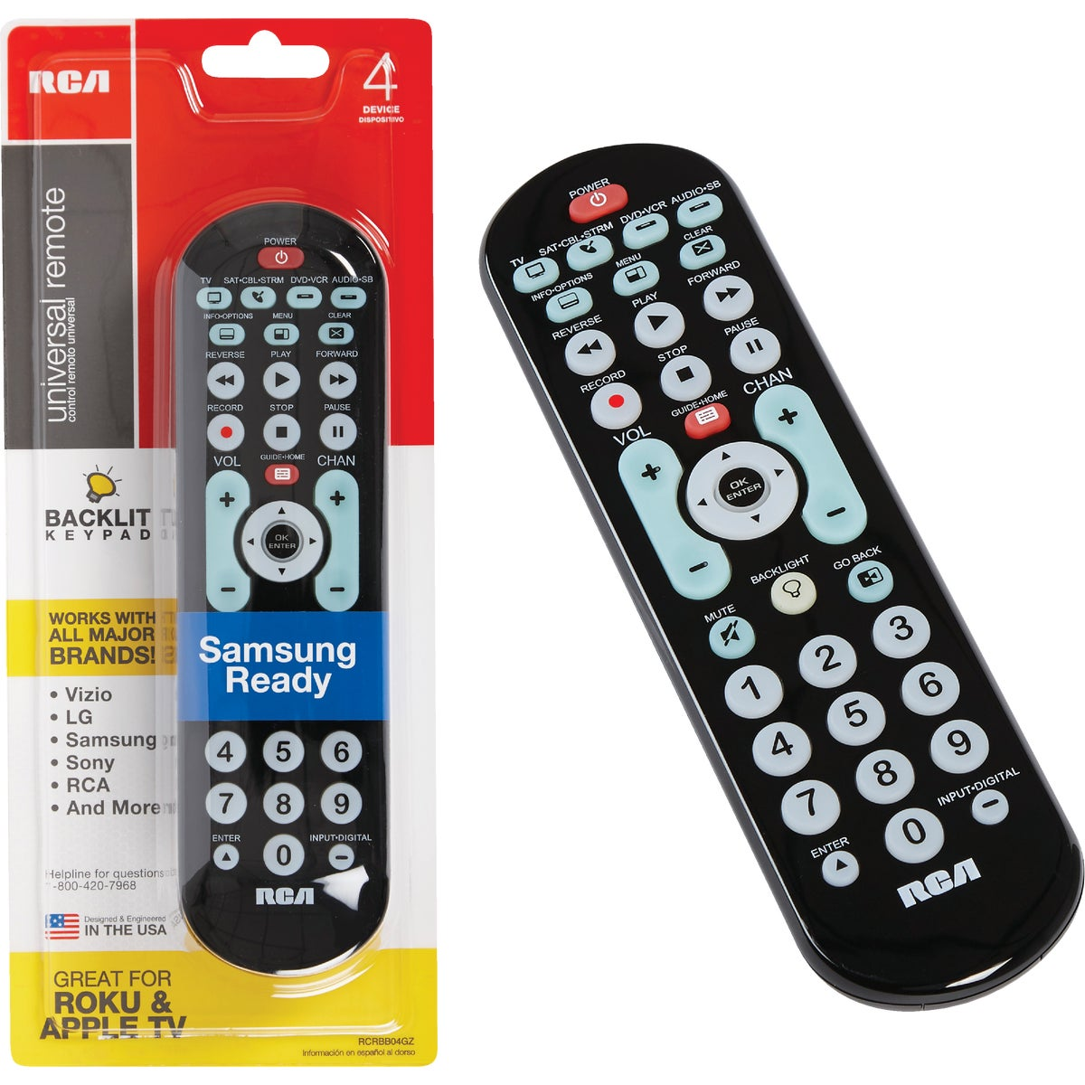 REMOTE CONTROL - RCR4258R by Audiovox Accessories