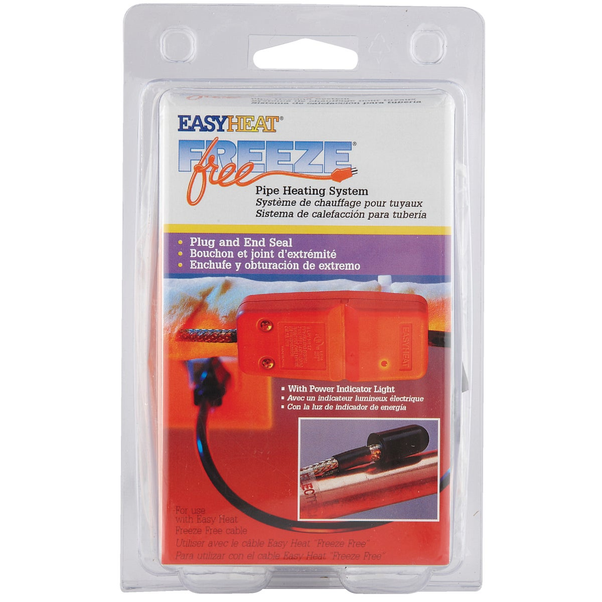 HEATING CABLE PLUG KIT - 10802 by Easy Heat Inc