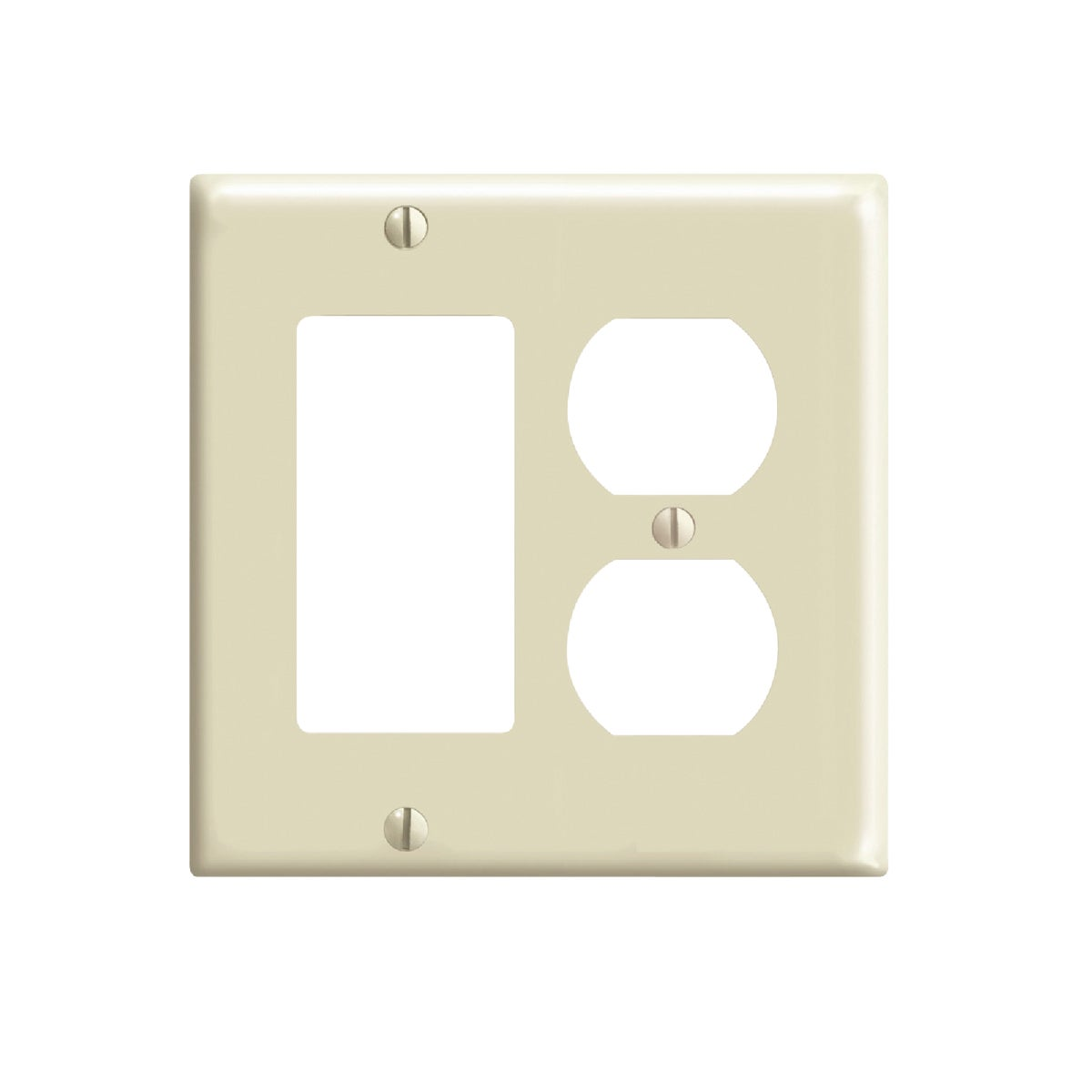 IV COMBO WALL PLATE - 80455I by Leviton Mfg Co