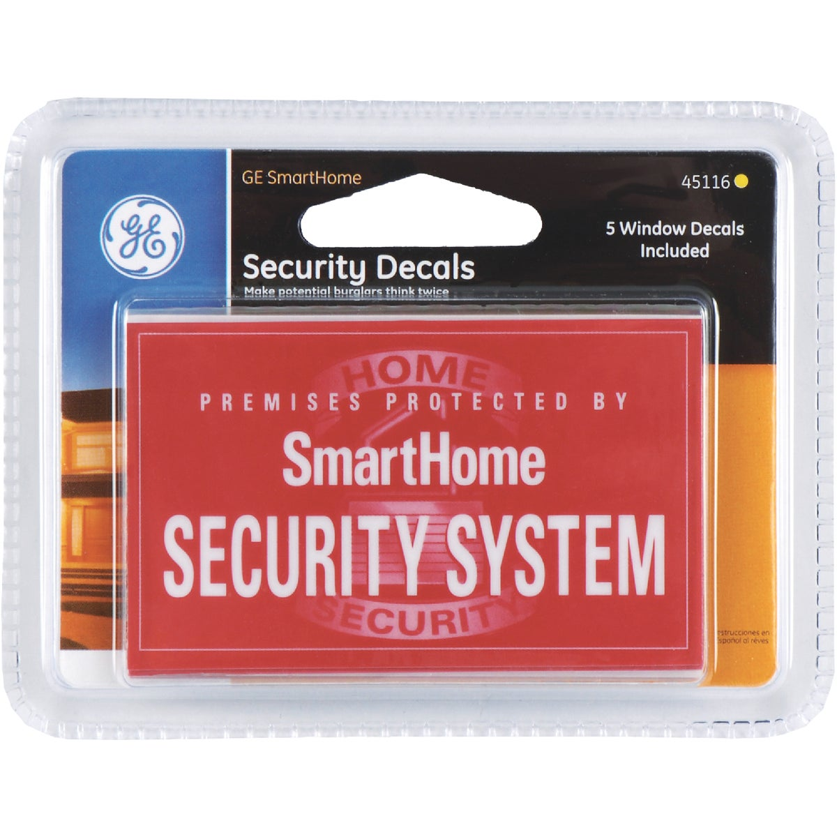 Security Alarm Stickers
