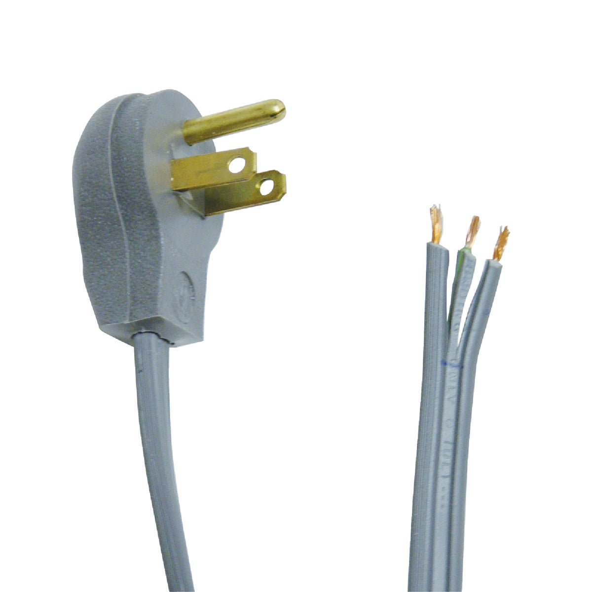 3' 16/3 GRAY APPLNC CORD - 3570 by Coleman Cable Import