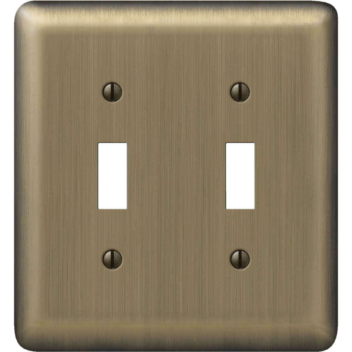 AB 2-TOGGLE WALL PLATE - 9AB102 by Jackson Deerfield Mf