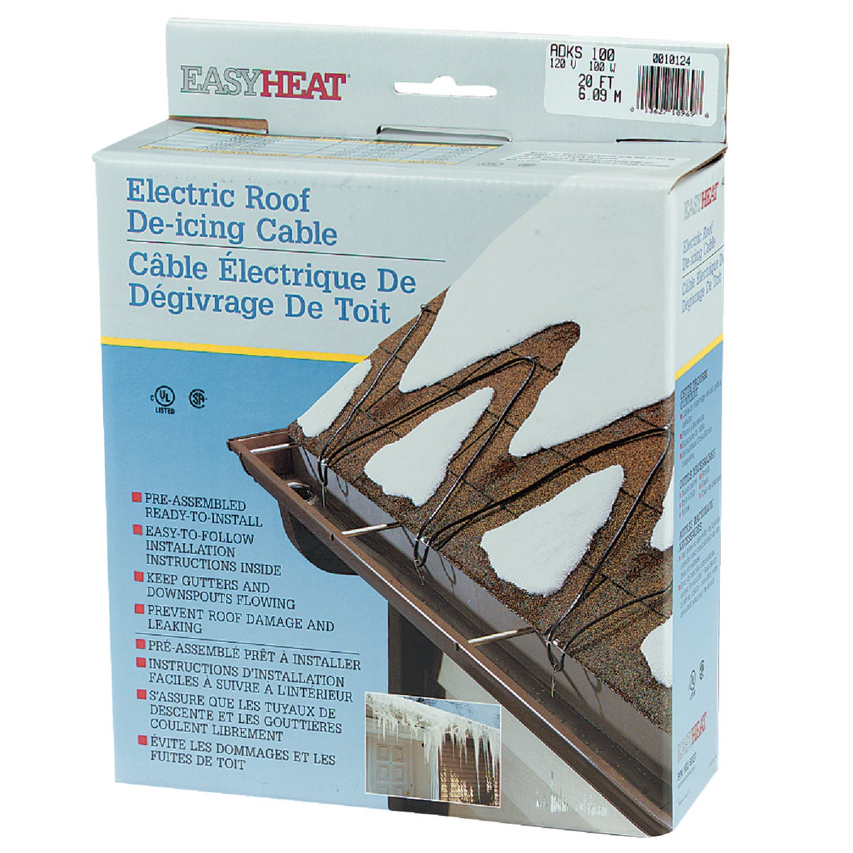20' ROOF CABLE - ADKS100 by Easy Heat Inc