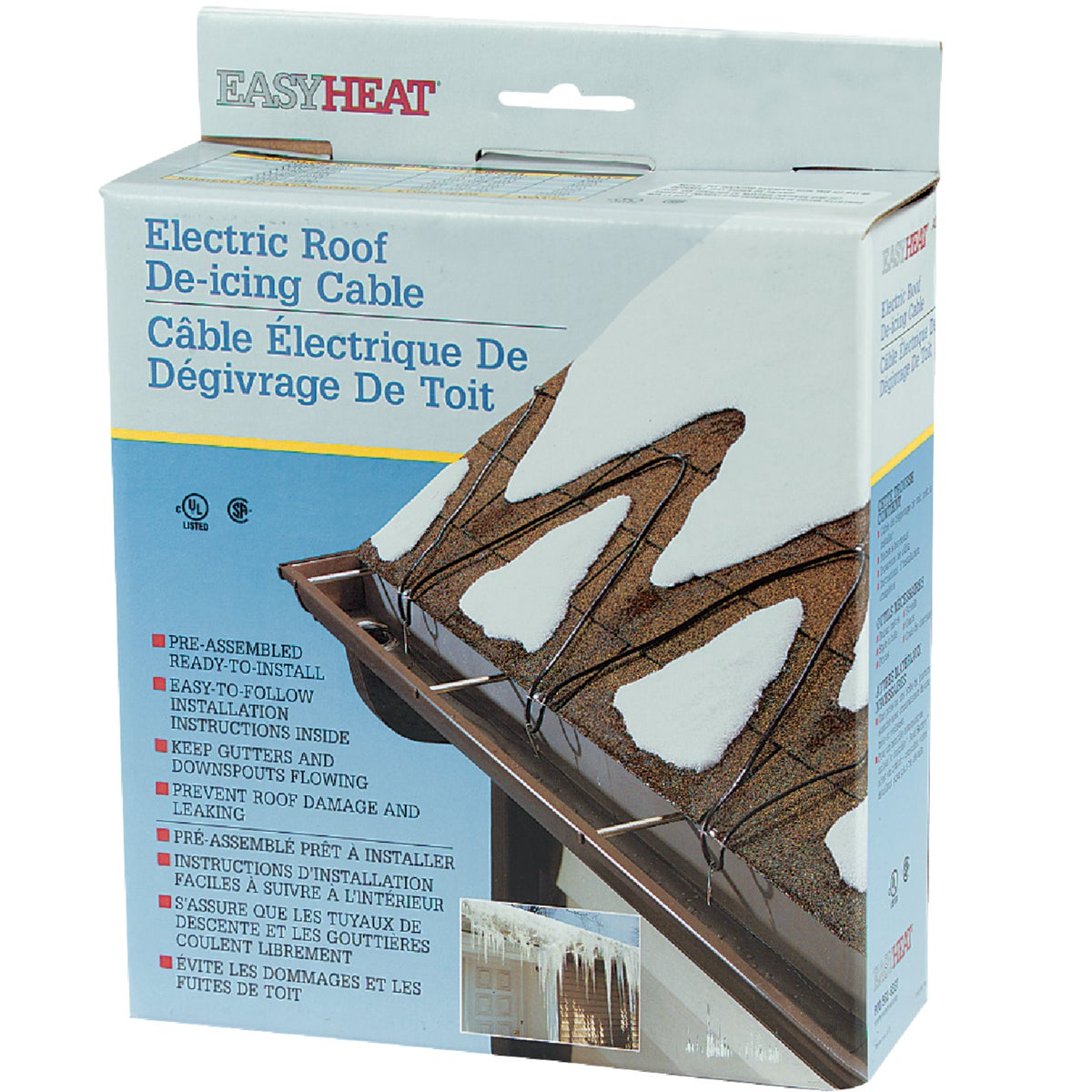 80' ROOF CABLE - ADKS400 by Easy Heat Inc