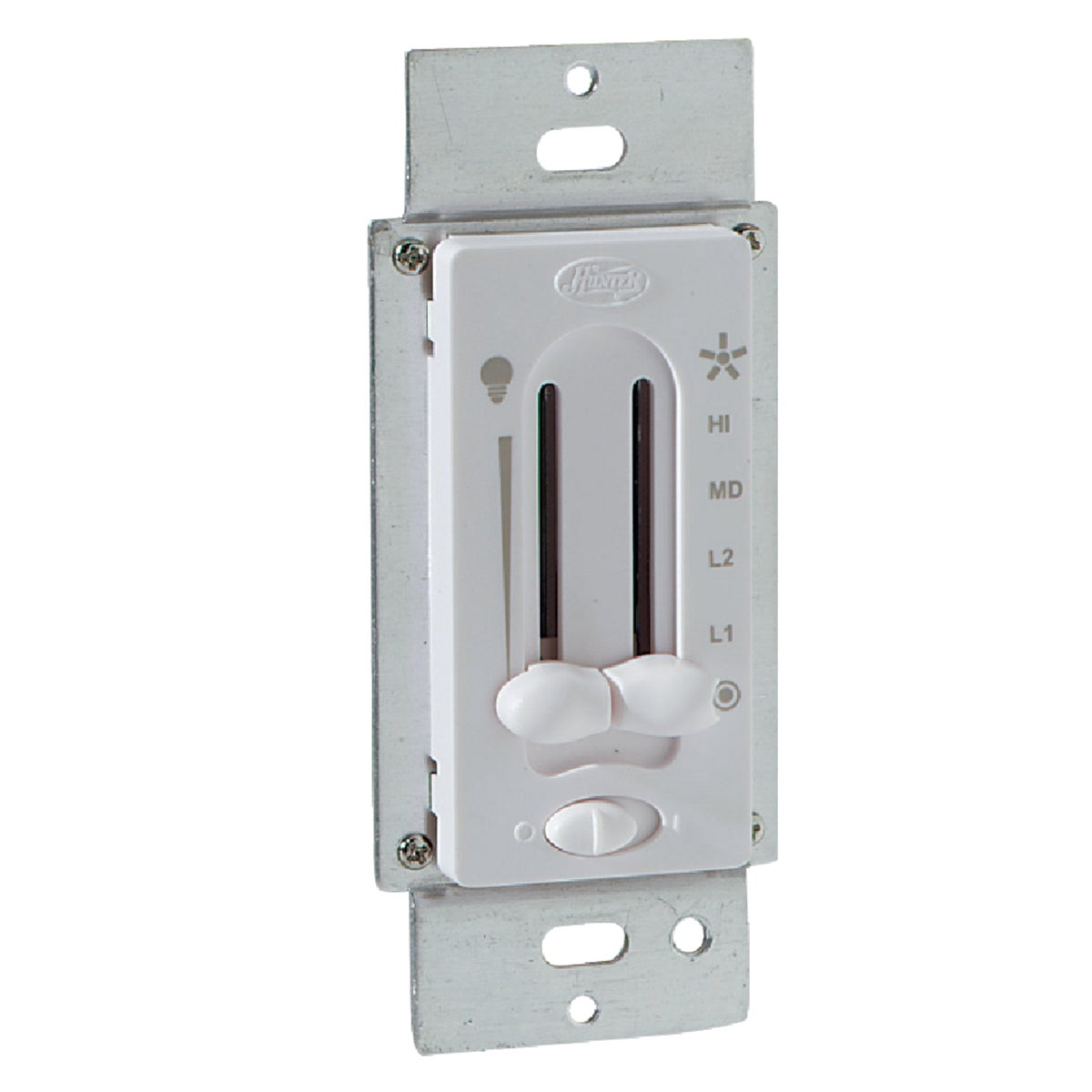 WHT FAN/LIGHT SWITCH - 27183 by Hunter Fan Co
