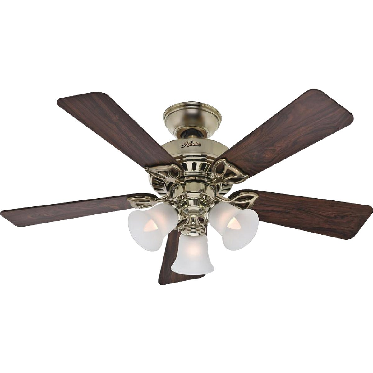 "42"" BB CEIL FAN W/LIGHT - 53080 by Hunter Fan Co"