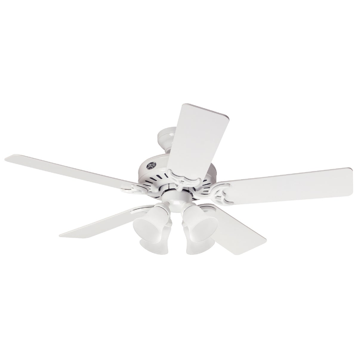 "52"" WHT CEIL FAN W/LIGHT - 53062 by Hunter Fan Co"