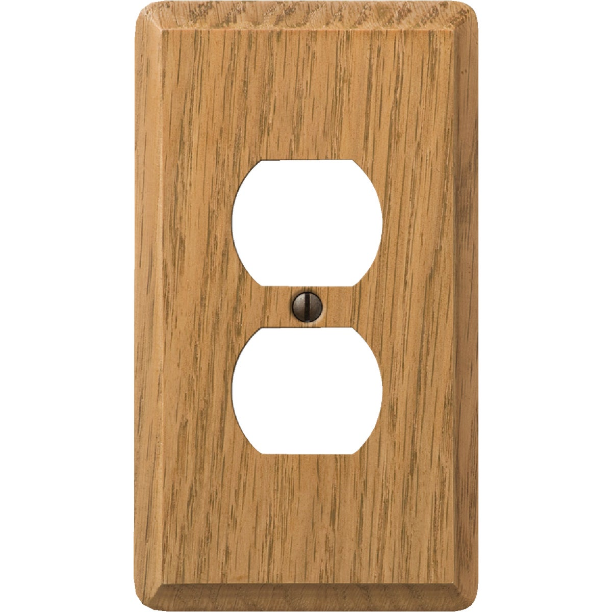 OAK OUTLET WALL PLATE - 908L by Jackson Deerfield Mf